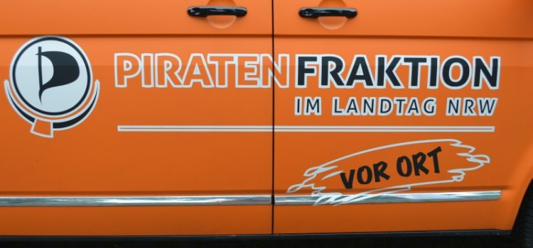 Piratenfraktion NRW vor Ort – 07.06.2016 in Bonn